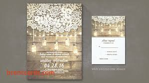 Wine Themed Wedding Card Box Read More Lace Wood Mason Jars Lights Rustic Barn