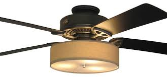 Low Profile Ceiling Fan Light Kit by Ceiling Fan With Drum Shade Light Kit Iron Blog Low Profile