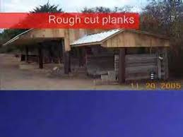 Livestock Loafing Shed Plans by How To Build A Loafing Shed With Hand Tools And Tractor Youtube