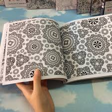 128 Pages Mandalas Coloring Books For Adults Relieve Stress Drawing Secret Garden Art In From Office School Supplies On