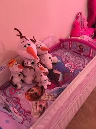 Frozen Bathroom Set At Walmart by Disney Frozen Elsa U0026 Anna 4 Piece Toddler Bedding Set Walmart Com