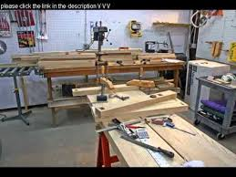 free woodworking workbench plans youtube
