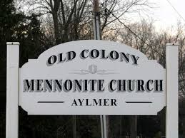 Mennonite Sheds Aylmer Ontario by Old Colony Mennonites In Search Of Promised Lands