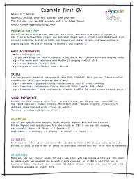 Resume Examples Just Out Of College Packed With Need To Make A How Write
