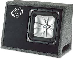 Kicker TS10L52 Ported Truck-style Box With One 10