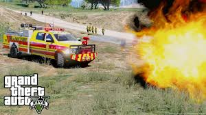 100 67 Dodge Truck GTA 5 Firefighter Mod Ram 3500 Brush Fire Fighting
