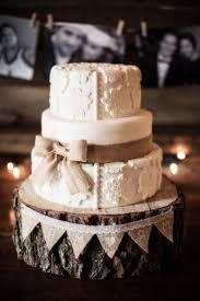 Wedding Cakes Rustic Cake Burlap Unique