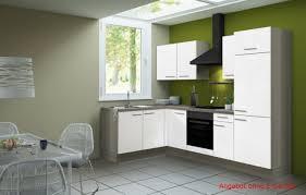 l form küche winkelküche ohne geräte küchenzeile eckküche