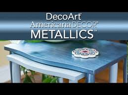 Americana Decor Chalky Finish Paint Walmart by See How You Can Use Americana Decor Metallics Paint To Add