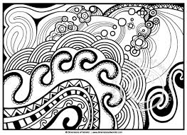 Abstract Coloring Pages For Adults Printable Dimensions Of Wonder
