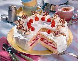 feine himbeer joghurt torte