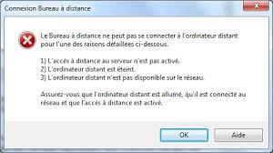 installer bureau à distance bureau à distance ou remote desktop contrôle à distance