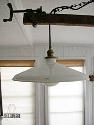 DIY Farmhouse Lighting ~ Kitchen Remodel Continues - Prodigal Pieces Barn Light Outdoor Wall Bronze With Gooseneck Arm 18 Shade Designers Edge Weathertight Ceiling Mount 120 Volt Ironglass Lighting Pendant Globe Electric 1light Matte Black Pendant65155 The Cobblestone Farms We Have Barn Lights Cleveland Ohio Selective Sound Eertainment Antique Lights For Environment Crustpizza Decor 139 Best Pie Images On Pinterest Horse Fixtures Design Ideas Patio Good 19 Extraordinary You Will Never Believe These Bizarre Truth Of
