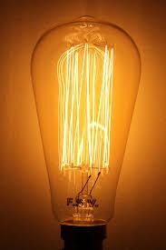 edison light bulb squirrel cage filament the block shop