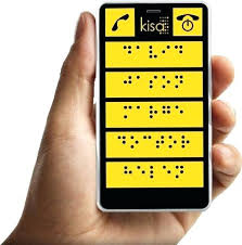 contemporary phones for the blind cell phones legally blind
