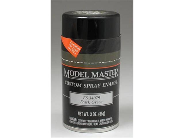 Testors Dark Green (FS 34079) 3oz. Spray Can