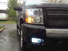 chevy silverado with led switchback turn signal lights ijdmtoy