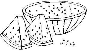Perfect Watermelon Coloring Page 76 In Pages For Adults With