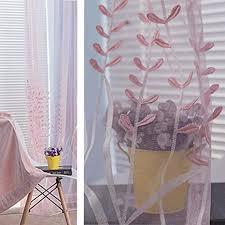 vorhänge die prägung bestickten gardinen lavendel tuch