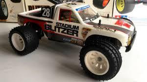 Tamiya Falcon Stadium Trucks #1 - 1992 Stadium Blitzer #58106 - YouTube