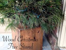 What Is The Best Christmas Tree Stand by Diy Wood Christmas Tree Stand Spoonful Of Imagination