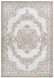 casa padrino wohnzimmer teppich beige verschiedene größen rechteckiger teppich im vintage design deko accessoires barockgroßhandel de