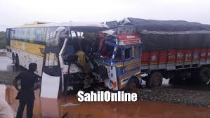 7 Injured In A Horrific Bus-truck Collision At Bhatkal   SahilOnline Highimpact Bus And Truck Signage Pivot Creative Sydney The Monster Trucks Wiki Fandom Powered By Wikia Dublin City Council Contract Award Havana Cuba Camello A Public Bus Made Out Truck Called Camello School Buses Teaching Colors Crushing Words Transporting Overseas Intertional Shipping Services Co Hoglund Is Full Service School Commercial Phoenix Arizona Trailer Service Parts Auto Wales West Opens Shepton Mallet Branch Man Hatfield Spares China Automatic Wash Machine With Italy Brushes