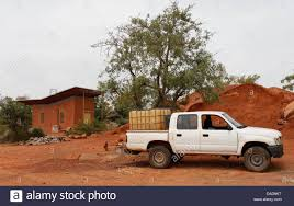 100 Pickup Truck Water Tank A Cross Country Vehicle Loaded With A Water Tank Is Situated On The