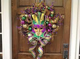 Burlap Mardi Gras Door Decorations by 192 Best Deana U0027s Deco Designs Images On Pinterest Deco Wreaths