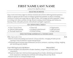 Transportation Resume Supervisor Templates