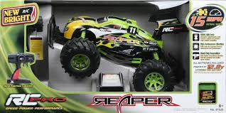 The New Bright RC Pro Reaper Is #ChosenByKids And This Mom ... New Bright 124 Remote Control Monster Jam Grave Digger Free 96v 1997 F150 Hobby Cversion Rcu Forums Rc Sport Radio Car Assorted Big W Trucks Truck Raptor Rock Crawler Xtreme Vehicle 24 Ghz Red Frenzy Toy Racing Car Predators Shark 118 45v 40mhz From 1808 Ebay 18 Scale 4 X Mega Blast Black Buy Amazoncom Ff Bursts