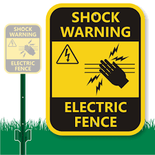ELECTRIC FENCE HUMOR