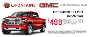 New & Used Buick, GMC Dealer In Highland, MI - LaFontaine Buick GMC Gmc Introduces New Offroad Subbrand With 2019 Sierra At4 The Drive Should You Lease Your Truck Edmunds 2018 1500 Reviews And Rating Motortrend Seattle Dealer Inventory Bellevue Wa Central Buick Is A Winter Haven New Car All Chevy Cadillac Inventory Near Burlington Vt Car Patrick Used Cars Trucks Suvs Rochester Autonation Park Meadows Dealership Me A Chaing Of The Pickup Truck Guard Its Ford Ram For Ellis Chevrolet In Malone Ny Serving Plattsburgh North Certified Preowned 2017 Base 2d Standard Cab Specials Quirk