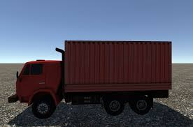 3D Model Industrial Small Truck Pack - V VR / AR / Low-poly ...