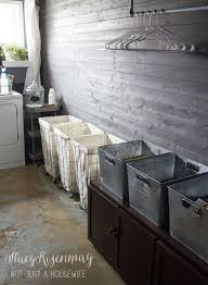 How To Get The Look Industrial Chic Style Laundry Room From Not Just