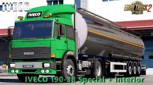 100 Iveco Trucks Usa IVECO 19038 SPECIAL INTERIOR V14 130X TRUCK MOD Euro Truck