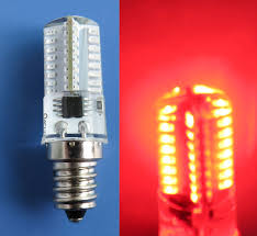 e12 candelabra c7 led bulb 64 3014smd dimmable silicone light