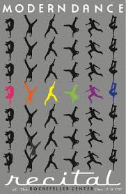 Graphic Work Modern Dance Poster