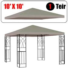 Amazon GotHobby 10 X 10 Gazebo Replacement Canopy Top Cover