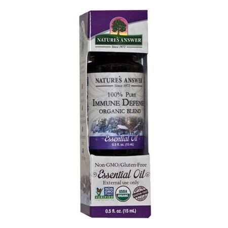 Nature's Answer - Organic Immune Defense Essential Oil Blend 0.5 oz
