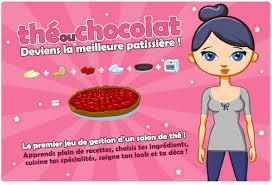 les jeux de fille et de cuisine the ou chocolat le jeu en ligne de cuisine sucrée
