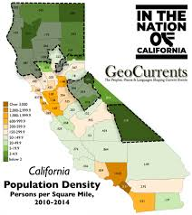 California Population Density Map Shows That The Counties Would Lose Are Almost All Extremely Rural And Not Urban While Every County