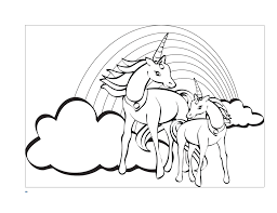 Family Free Printable Unicorn Coloring Pages Ideas Color Gerardduchemann Com On Easy