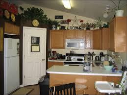 kitchen top of cabinet decor kitchen soffit decorating ideas
