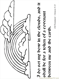 Noah And The Ark Bible Coloring Page