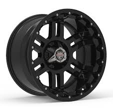 100 20 Inch Truck Rims Center Line Lifted Series LT1 830B Wheels Gloss Black
