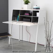 meuble bureau secretaire design mormor de smd secrétaire bureau design à abattant achat vente