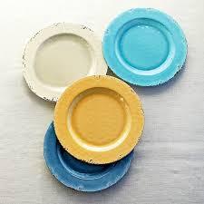 Rustic Melamine Dinner Plates