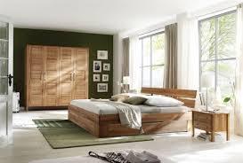 schlafzimmer komplett wildeiche massiv 4 teilig modell ole