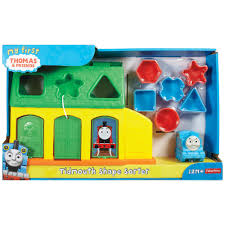 Thomas Tidmouth Sheds Mega Bloks by My First Thomas U0026 Friends Tidmouth Shape Sorter 18 00 Hamleys
